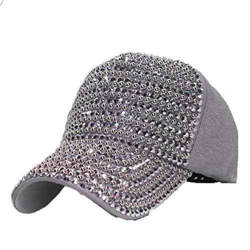 Sox Watch Womens Heart - Women Luxury Baseball Cap Pearls Rhinestones Baseball Hats Fashion Cap Female Summer Casual Sun Hat Silver