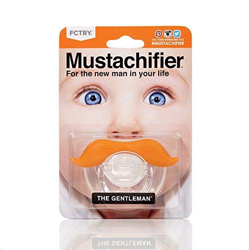 FCTRY Gentleman Mustache Pacifier Mustachifier