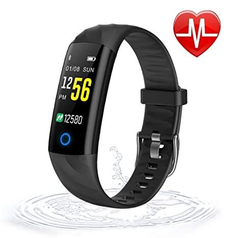 LIGE Smart Watch for Android Phones and iPhones, Waterproof Smartwatch Activity Fitness Tracker with GPS Call Reminder Sleep Monitor Pedometer Step ...