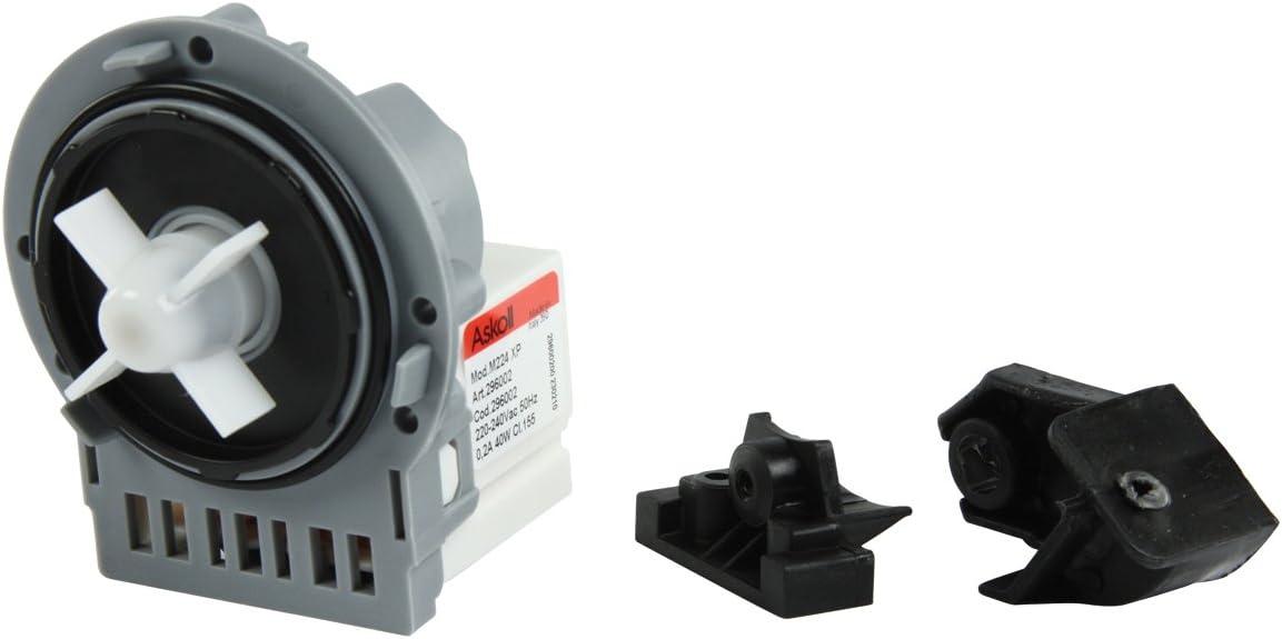 Askoll W1-07019-ASK, Bomba de Desagüe Magnética, Universal