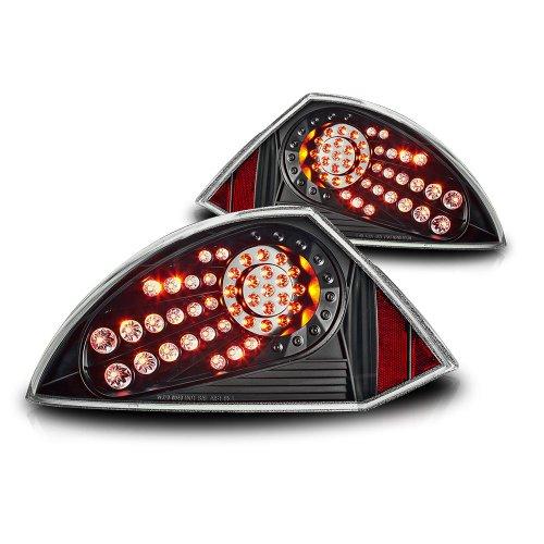 Winjet WJ20-0040-04 LED Tail Lights for 2000-2005 Mitsubishi Eclipse - (Mitsubishi Eclipse Tail Light Cover)
