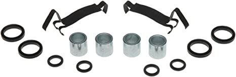 ACDelco 18K1073X Professional Front Disc Brake Caliper Hardware Kit with Clips and Bushings