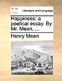 Happiness, Henry Meen, 1170613225