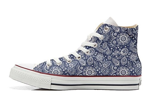 Converse Customized Adulte - chaussures coutume (produit artisanal) Arabesque