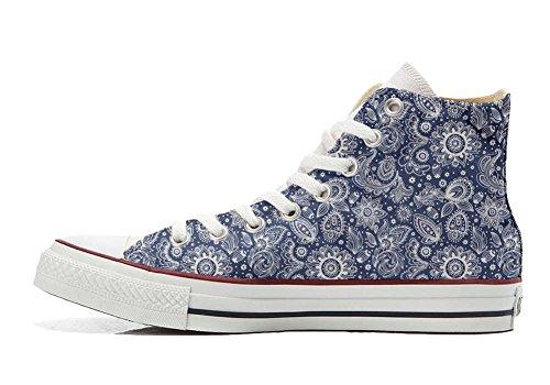 Converse Personnalisé All Star Unisexe Sneaker (arabesque Chaussure À La Main)