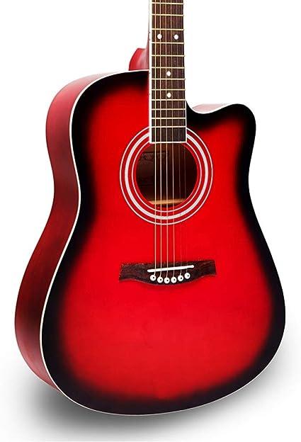 Miiliedy Principiante Estudiante Adulto 41 Pulgadas Chapa Guitarra ...