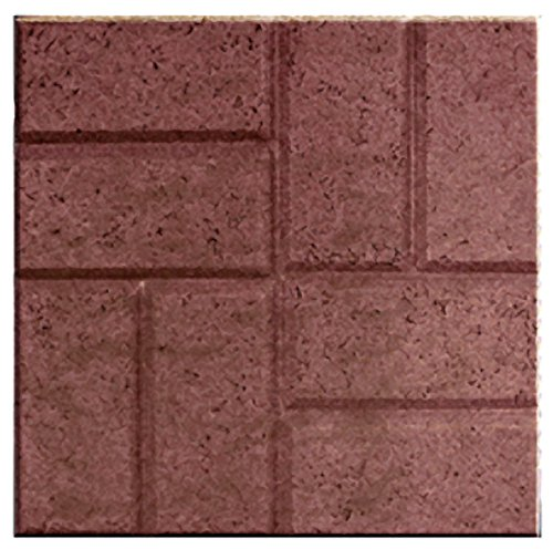 Emsco Group 2155HD Garden Lawn Edging (12 Pack), Red Brick (Brick Border Concrete Patio)