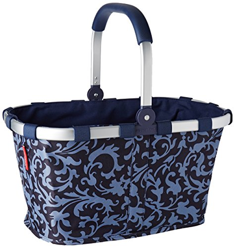 Carry Bag - Reisenthel Germany Collapsible Bag or Market Basket, BaroqueBlue (Reisenthel Basket Collapsible)