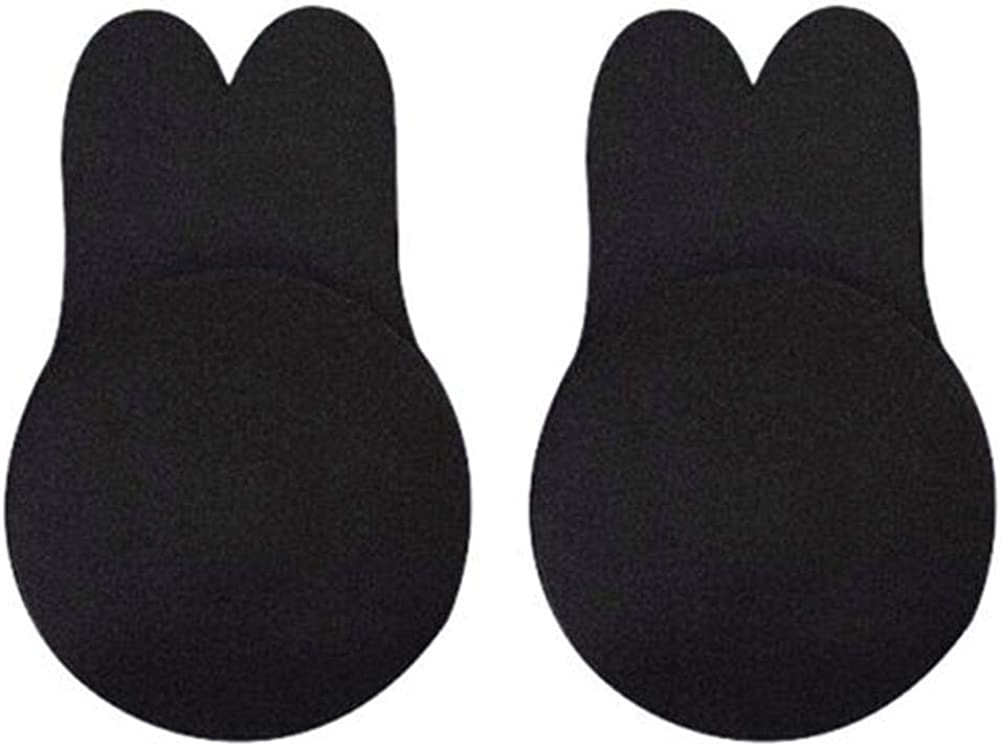 Airrioal Reusable Breast Lift Pasties for Women Silicone Nippleless Covers Strapless Sticky Bra