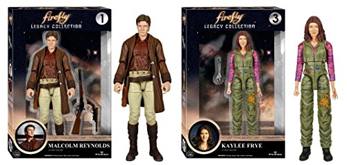 [Super Hero Firefly - Malcolm Reynolds Action Figure & Firefly - Kaylee Frye Action Figure] (Firefly Kids Costumes)