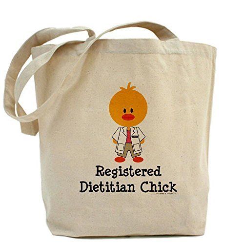 Cafepress registrati Dietitian Chick Tote bag – standard multi-color by Cafepress