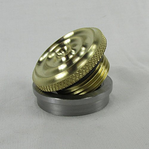 Motorcycle Polished BRASS Gas/Fuel Tank Cap