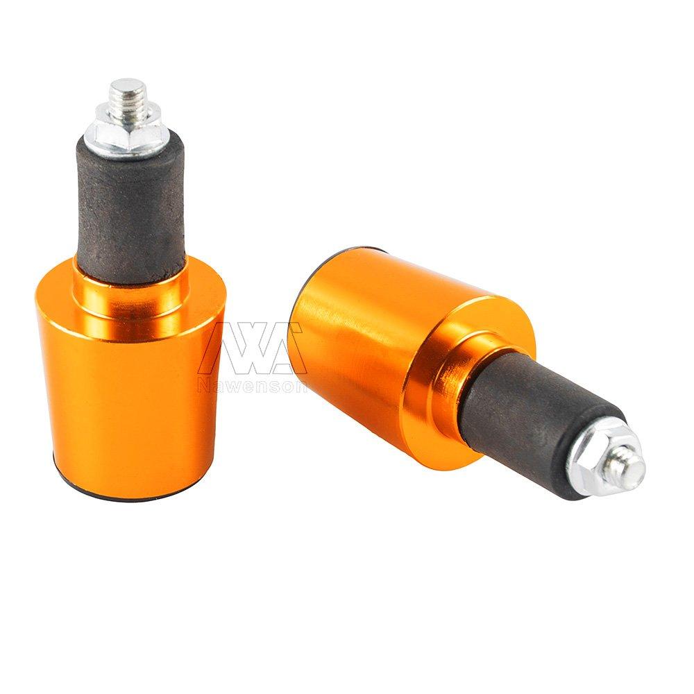 22/mm manopole CNC universale per manubrio tappo fine Plugssilder Plug motocross accessori bici
