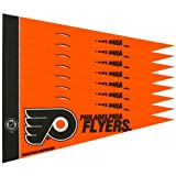 Philadelphia Flyers Official NHL 10 inch 8 Piece Mini Pennant Set by Rico Industries by Rico