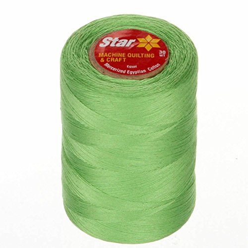 Star Thread V37-6840 3-Ply T-35 Cotton Quilting & Craft Thread, 1200 yd, Lime ()