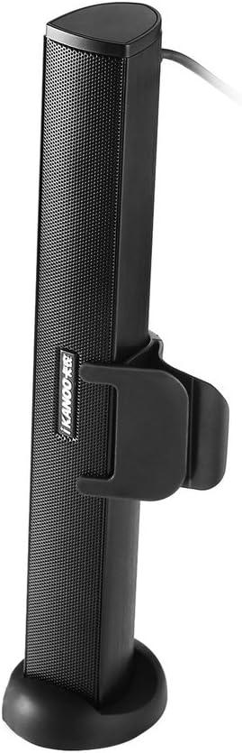 Ikanoo N12 Tragbarer Stereo Lautsprecher Mit Usb Audio Soundbar Mini Usb Laptop Lautsprecher Für Pc Laptop Computer Stereo Subwoofer Mit Hd Sound Und Bass Audio Hifi
