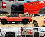 toyota chrome logo emblem - TOYOTA TUNDRA TRD PRO EXTERIOR REAR FENDER BED LOGO TRIM SET INDENTATION 2014 2015 2016 2017