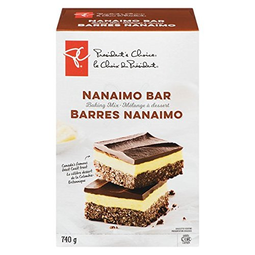 President's Choice Nanaimo Bar Baking Mix 740g {Imported from Canada}
