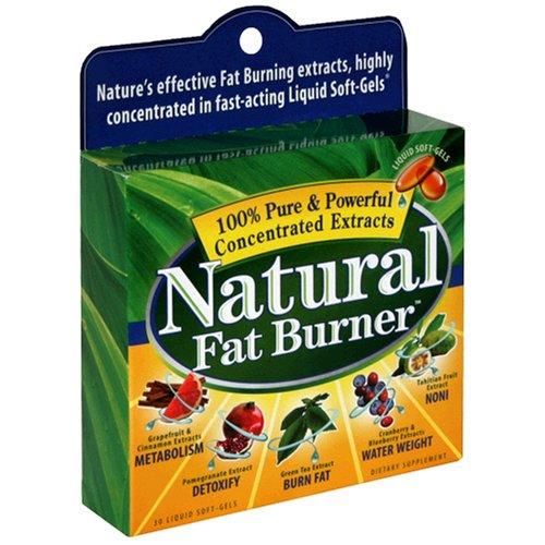 Nutrition Appliquée brûleur de graisse naturel, 30 Liquid Gels mous (Pack de 3)