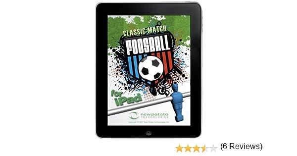 New Classic de Patata Match futbolín Mesa de Juego para iPad 1, 2, y 3: Amazon.es: Informática