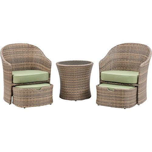 Hanover Seneca 5-Piece Chat Set Cilantro green SEN-5PC-GRN