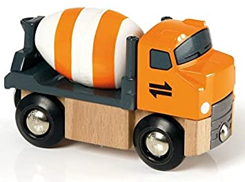amazon brio cement truck you me 並行輸入品 おもちゃ おもちゃ