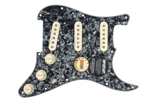 Jeff Beck Noiseless Pickups - 920D Custom Shop Jeff Beck Loaded Pickguard, Hot Noiseless, TBX, Blender Pot