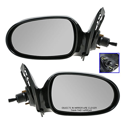 Manual Remote Side View Mirror Driver Left LH For 00-06 Nissan Sentra