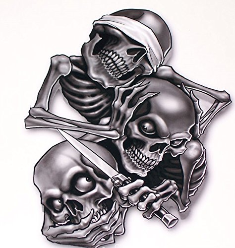 See No Evil Hear No Evil Speak No Evil Decal 5