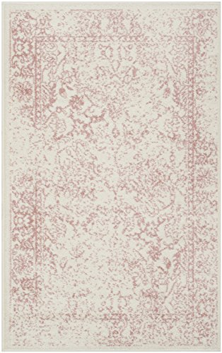 "Safavieh Adirondack Collection ADR109H Ivory and Rose Oriental Vintage Area Rug (2'6"" x 4')"