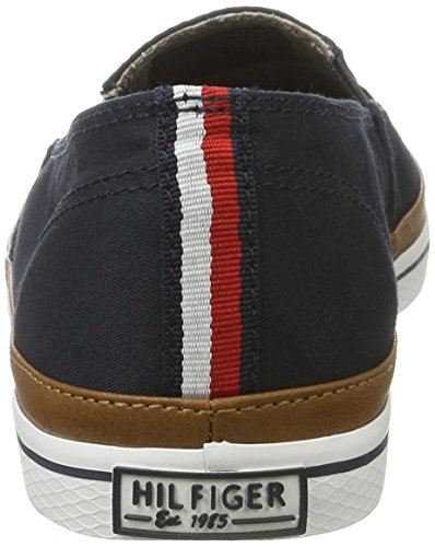 403 Femme 7d Bleu Basses midnight Sneakers Hilfiger K1285esha Tommy pT8XP8