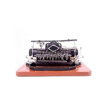 Adornos Modelo Retro De La Máquina De Escribir, Decoraciones Caseras De Los Apoyos De La