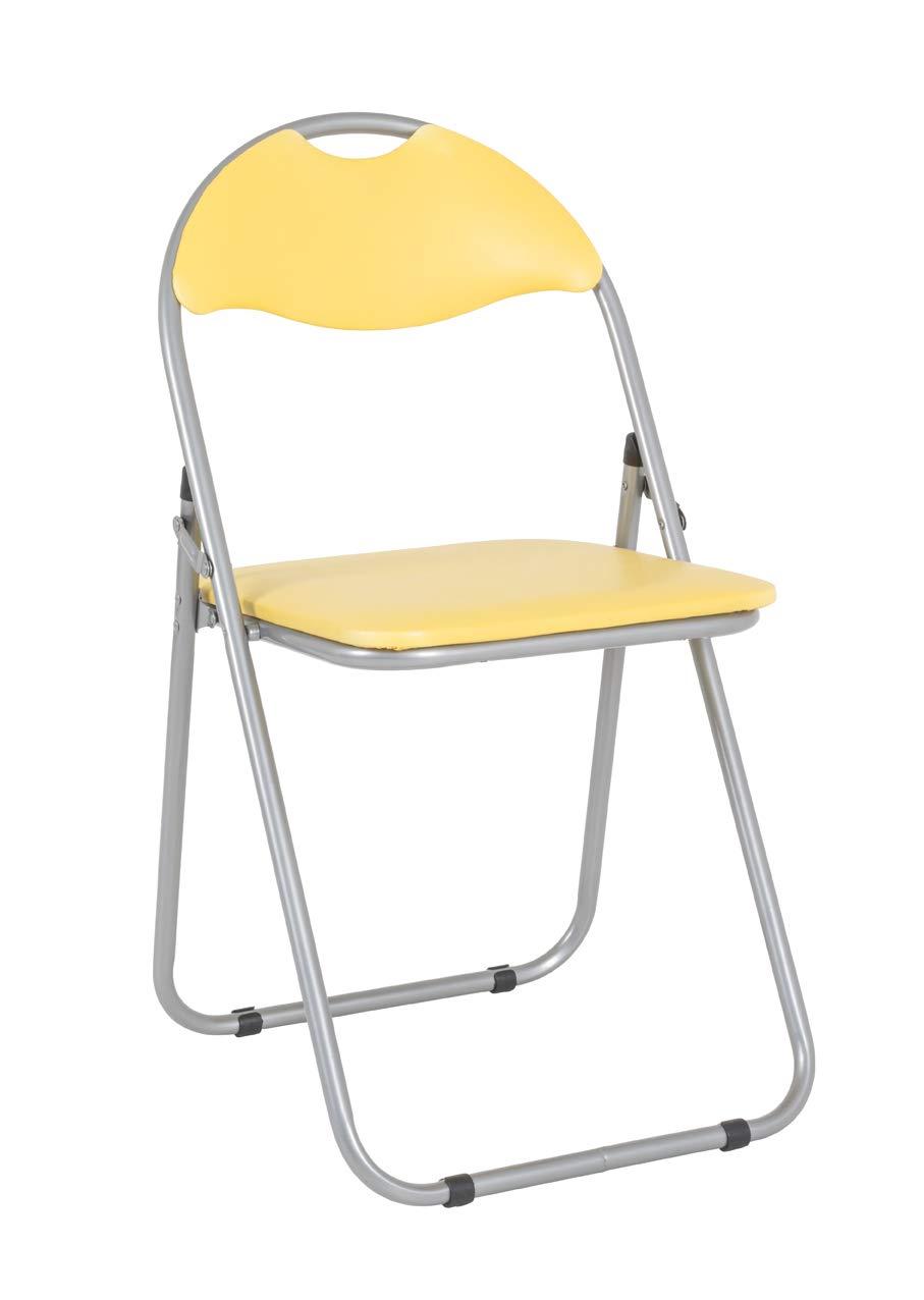 Haku Möbel - Juego de 6 sillas Plegables, Acero, Aluminio de ...