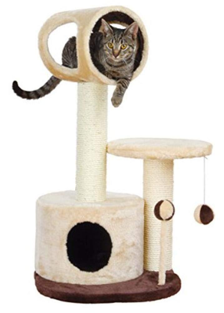 Deluxe Multi Cat Tower Cat Play Towers Cat Tree Pet Plush 40  40  75cm