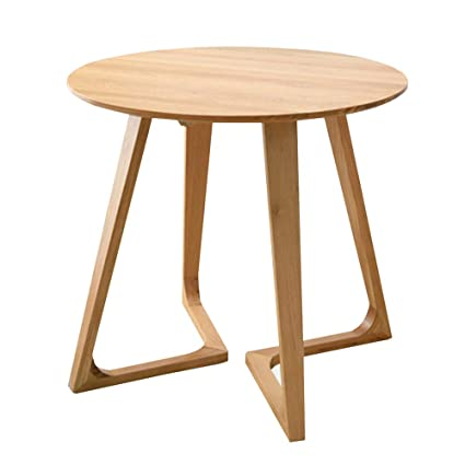 Amazon.com - Chunlan Solid Wood Round Dining Table ...