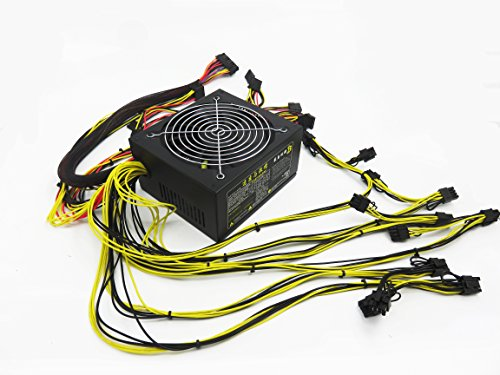 ups for graphics card RX480 RX470 RX570 RX580 12v 1600w power supply 12v dc input atx power supply