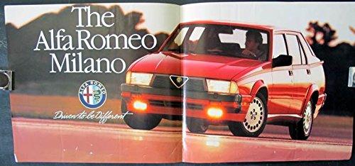 Amazon Com 1987 1988 Alfa Romeo Milano Factory Showroom Poster