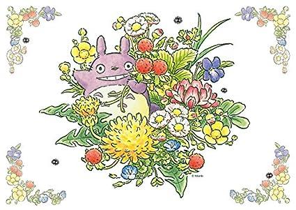 Amazon Com Ensky My Neighbor Totoro Spring Flowers Jigsaw Puzzle