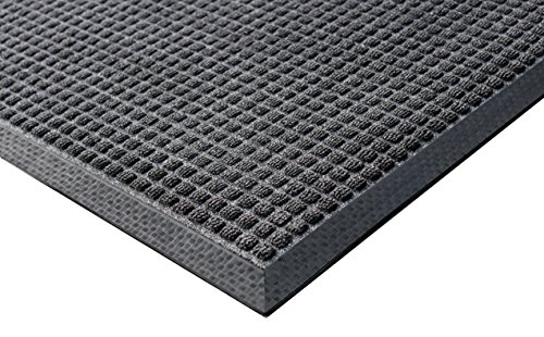 Rhino Mats TNC-4872CH Town 'N' Country Entrance Mat 4' x 6', Charcoal, Rubber, 1/2
