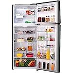 LG 471 L 2 Star LG Wi-Fi Inverter Linear Frost-Free Double-Door Refrigerator (GL-T502FPZU, Shiny Steel, Convertible)