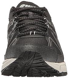 ASICS Men\'s Gel-Kahana 8 Trail Runner, Black/Onyx/Silver, 9.5 M US