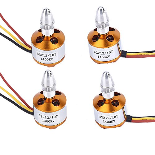 4PCS Brushless Motor 2212 1400KV for FPV Quadcopter Multirotor Hexacopter Drone