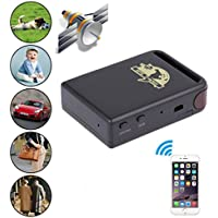 LtrottedJ Mini Vehicle GSM GPRS GPS Tracker Car Vehicle Tracking Locator TK102B