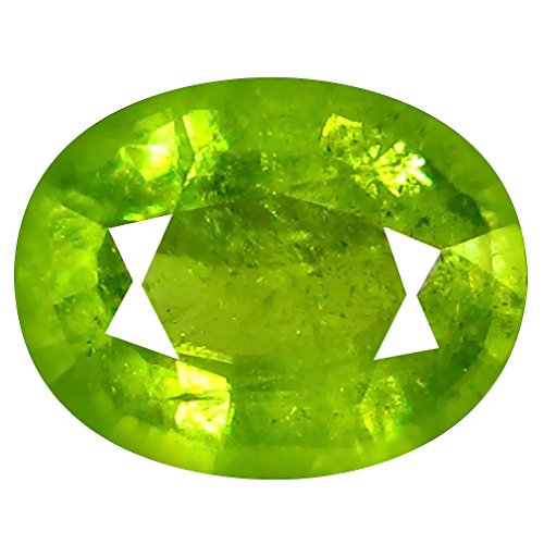Deluxe Gems 1.82 ct Oval (9 x 7 mm) Pakistan Un-Heated Pakistan Sphene Natural Loose ()