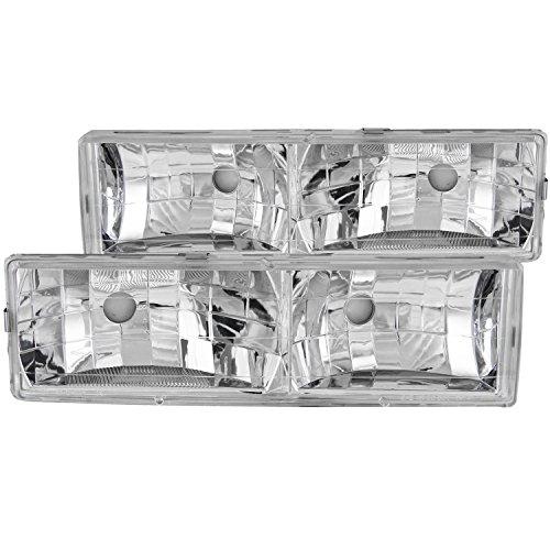 r Crystal Headlight (Anzo Usa Headlight Crystal)