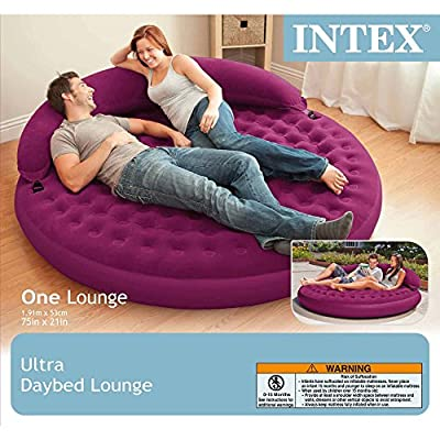 """Intex Ultra Daybed Inflatable Lounge, 75"""" X 21"""""""