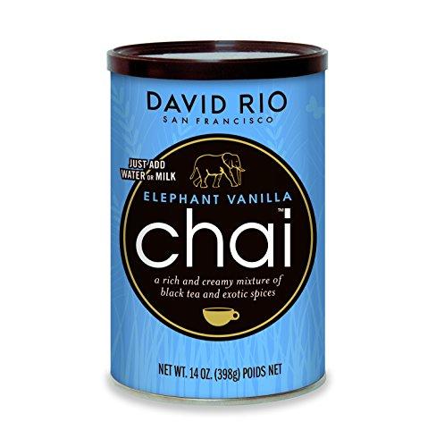 David Rio Chai Mix, Elephant Vanilla, 14 Ounce