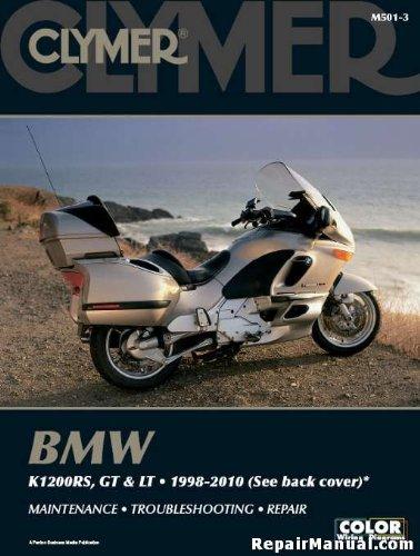 M501-3 1998-2010 BMW K1200RS GT LT Motorcycle Repair Manual by Clymer