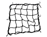 Heavy-Duty 15 Cargo Net for Motorcycles, ATVs - Stretches to 30 (Black) ()