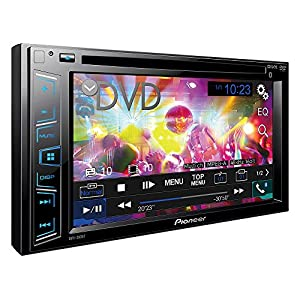 """Pioneer AVH-280BT In-Dash DVD Receiver with 6.2"""" Display and Bluetooth"""